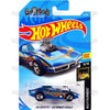 68 Corvette Gas Monkey Garage #41 blue (NightBurnerz) - 2018 Hot Wheels Basic Mainline B Case Assortment C4982 by Mattel.
