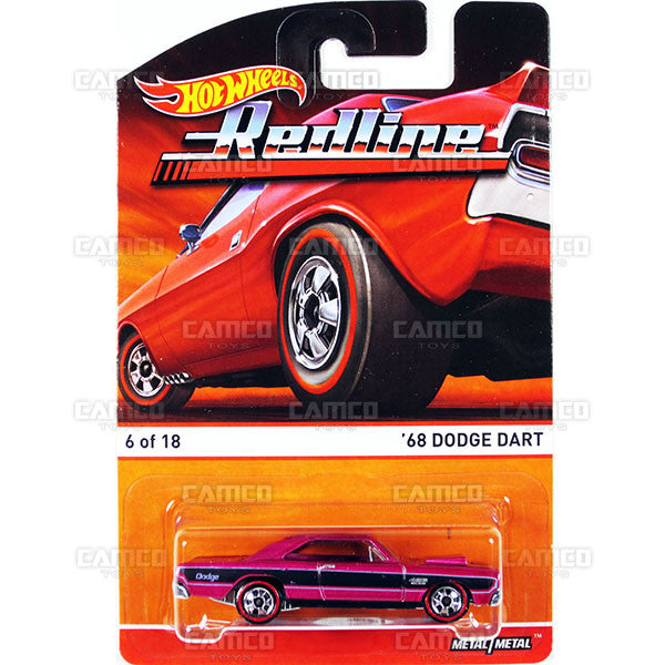 68 Dodge Dart - 2015 Hot Wheels Heritage B Case (Redline) Assortment BDP91-956B by Mattel.