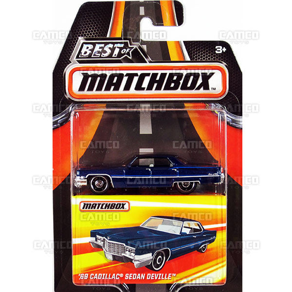 69 Cadillac Sedan Deville - 2016 Matchbox (Best of Matchbox)