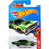 69 Dodge Coronet Superbee (HW Flames) - from 2016 Hot Wheels Basic Case Worldwide Assortment C4982 by Mattel.