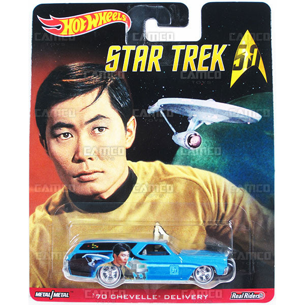 70 CHEVELLE DELIVERY (Sulu) - from 2016 Hot Wheels Pop Culture B Case (STAR TREK 50th Anniversary) Assortment DLB45-956B by Mattel.