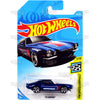 70 Camaro #153 blue Hitchkis - 2018 Hot Wheels Basic G Case Assortment C4982