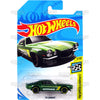 70 Camaro #28 green Hotchkis (HW Speed Graphics) - 2018 Hot Wheels Basic Mainline B Case Assortment C4982 by Mattel.