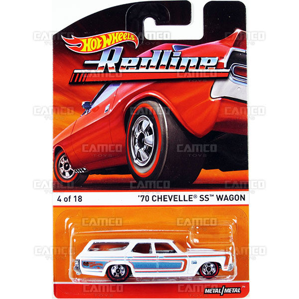 70 Chevelle SS Wagon - 2015 Hot Wheels Heritage B Case (Redline) Assortment BDP91-956B by Mattel.