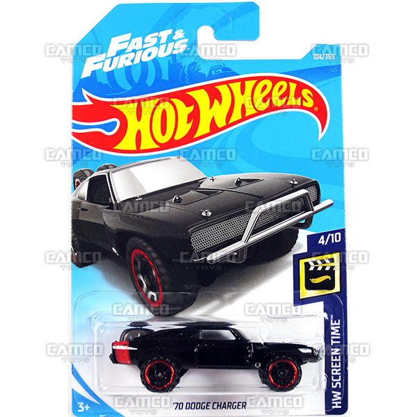 70 Dodge Charger #104 Fast & Furious - 2018 Hot Wheels Basic Mainline E Case Assortment C4982 by Mattel.