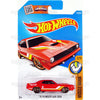 70 Plymouth AAR Cuda #125 red (Muscle Mania) - from 2016 Hot Wheels Basic Case Worldwide Assortment C4982 by Mattel.