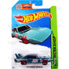 70 Plymouth Superbird #229 teal (HW Workshop) - 2015 Hot Wheels Basic Mainline C4982