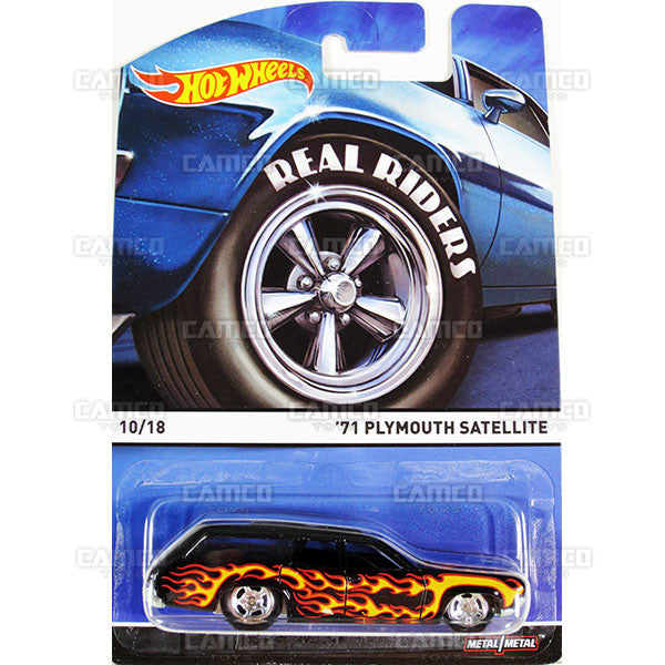 71 Plymouth Satellite - 2015 Hot Wheels Heritage C Case (Real Riders) Assortment BDP91-956C by Mattel.
