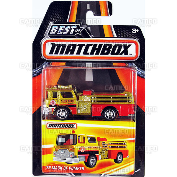 75 Mack CF Pumper - 2016 Matchbox (Best of Matchbox)