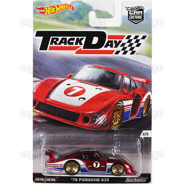 78 Porsche 935 - 2016 Hot Wheels (Track Day)