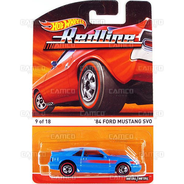 84 Ford Mustang SVO - 2015 Hot Wheels Heritage D Case (Redline) Assortment BDP91-956D by Mattel.