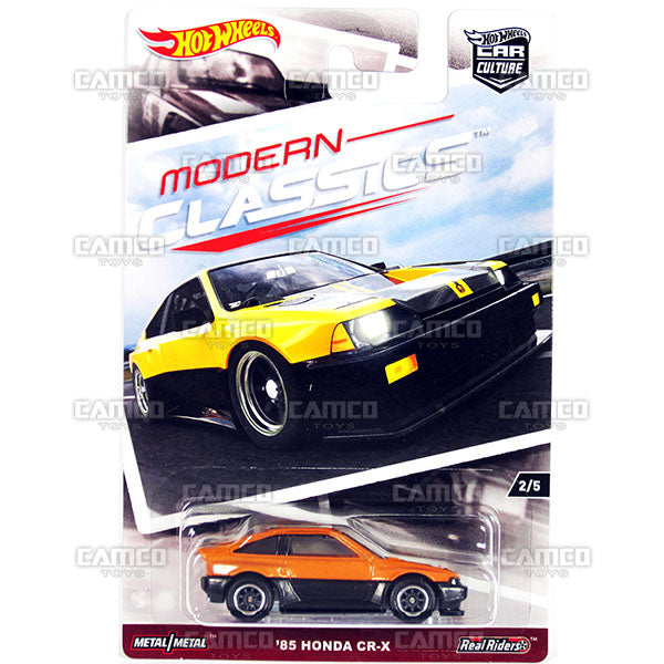 85 Honda CR-X (MODERN CLASSICS) - 2017 Hot Wheels Car Culture K Case Assortment DJF77-956K by Mattel.