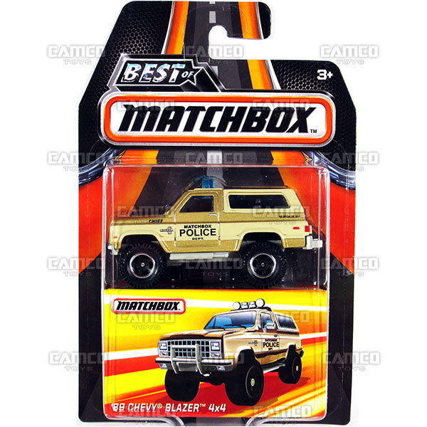 89 Chevy Blazer 4x4 - 2017 Matchbox (Best of Matchbox)