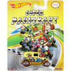 A OK (Super Mario Kart) - 2015 Hot Wheels Pop Culture F Case (SUPER MARIO) Assortment CFP34-956F by Mattel.
