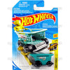 Aisle Driver #43 teal (Fast Foodie) - 2018 Hot Wheels Basic Mainline B Case Assortment C4982 by Mattel.
