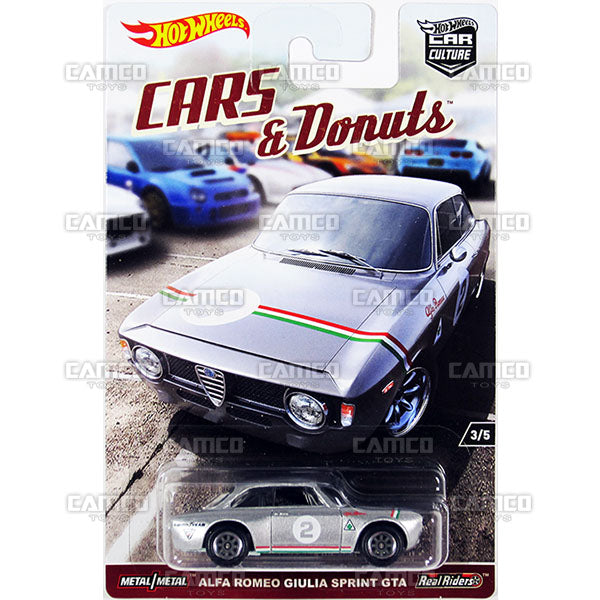 Alfa Romeo Giulia Sprint GTA - 2017 Hot Wheels Car Culture L Case Assortment DJF77-956L by Mattel.