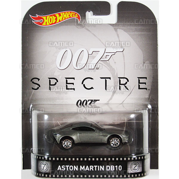 ASTON MARTIN DB10 (James Bond 007) - 2016 Hot Wheels Retro Entertainment B Case Assortment DMC55-959B