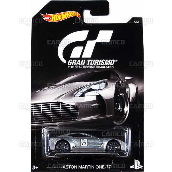 Aston Martin ONE-77 - from 2016 Hot Wheels GRAN TURISMO Case Assortment DJL12-999A by Mattel.