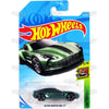 Aston Martin One-77 #117 green - 2018 Hot Wheels Basic Mainline E Case Assortment C4982 by Mattel.