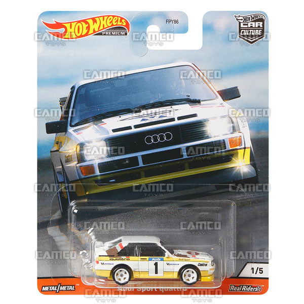 Audi Sport Quattro - 2020 Hot Wheels Premium Car Culture R Case HILL CLIMBERS Assortment FPY86-956R by Mattel.
