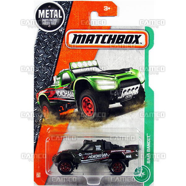 BAJA BANDIT #119 yokohama - 2017 Matchbox Basic L Case Assortment 30782 by Mattel.