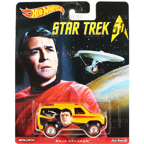 BAJA BREAKER (Scotty) - from 2016 Hot Wheels Pop Culture B Case (STAR TREK 50th Anniversary) Assortment DLB45-956B by Mattel.