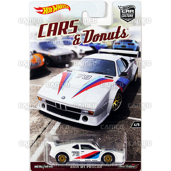 BMW M1 Procar - 2017 Hot Wheels Car Culture L Case Assortment DJF77-956L by Mattel.