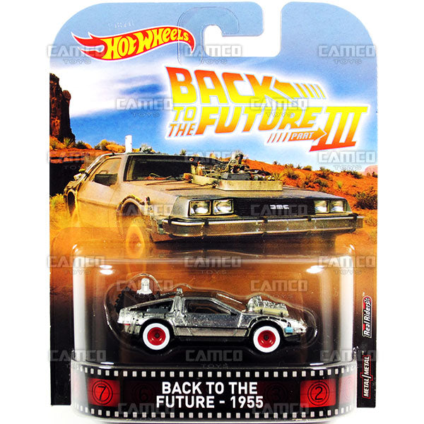 Back to the Future-1955 (Time Machine) - 2017 Hot Wheels Retro Replica Entertainment D case assortment DMC55-956D