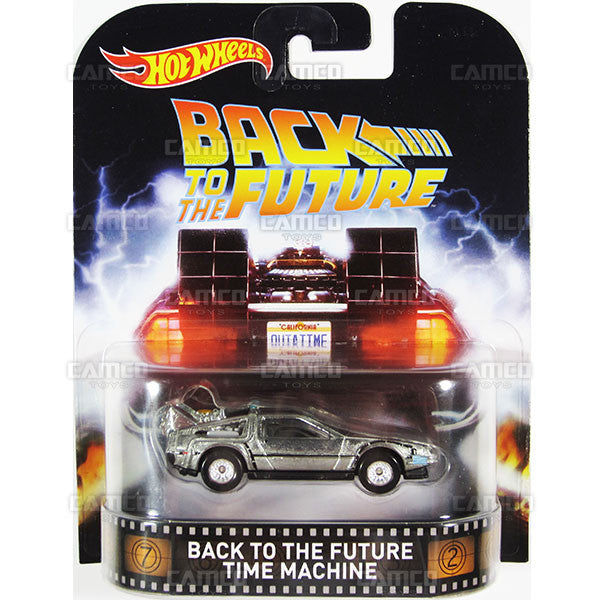 BACK TO THE FUTURE Time Machine - 2016 Hot Wheels Retro Entertainment B Case Assortment DMC55-959B