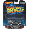 Back to the Future Time Machine 2 - 2018 Hot Wheels Retro Replica Entertainment G Case Assortment DMC55-956G