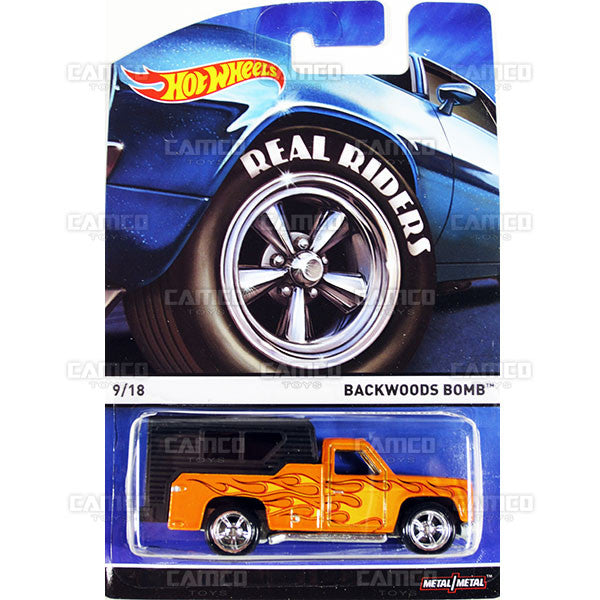 Backwoods Bomb - 2015 Hot Wheels Heritage C Case (Real Riders) Assortment BDP91-956C by Mattel.