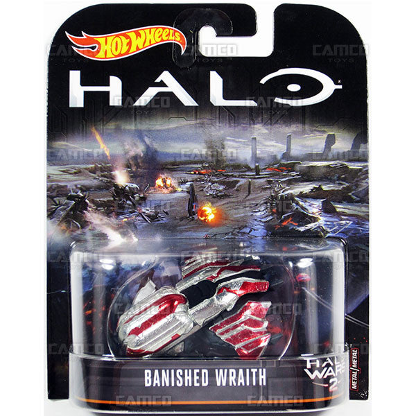 Banished Wraith - 2017 Hot Wheels Retro Replica Entertainment B Case (HALO) Assortment DMC55-956B
