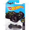 Batman Arkham Knight Batmobile #88 green - from 2017 Hot Wheels basic mainline D case Worldwide assortment C4982 by Mattel.