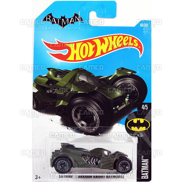Batman Arkham Knight Batmobile #88 green - 2017 Hot Wheels ...