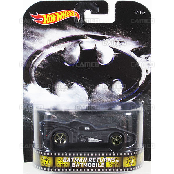 Batman Returns Batmobile - 2015 Hot Wheels Retro Entertainment F Case BDT77-996F