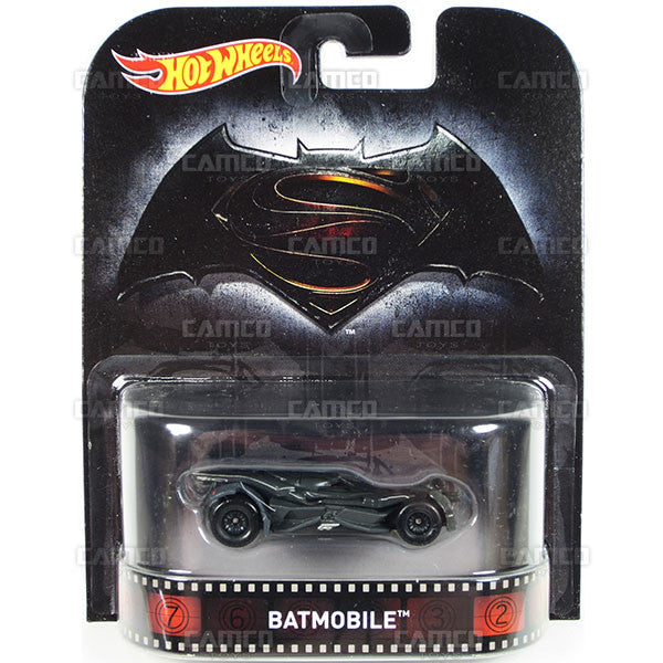Batmobile (Batman vs Superman) - 2016 Hot Wheels Retro Entertainment A Case DMC55-959A