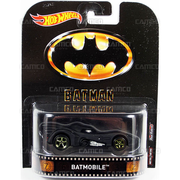 Batmobile (1989 Batman) - 2017 Hot Wheels Retro Entertainment A Case DMC55-956A by Mattel