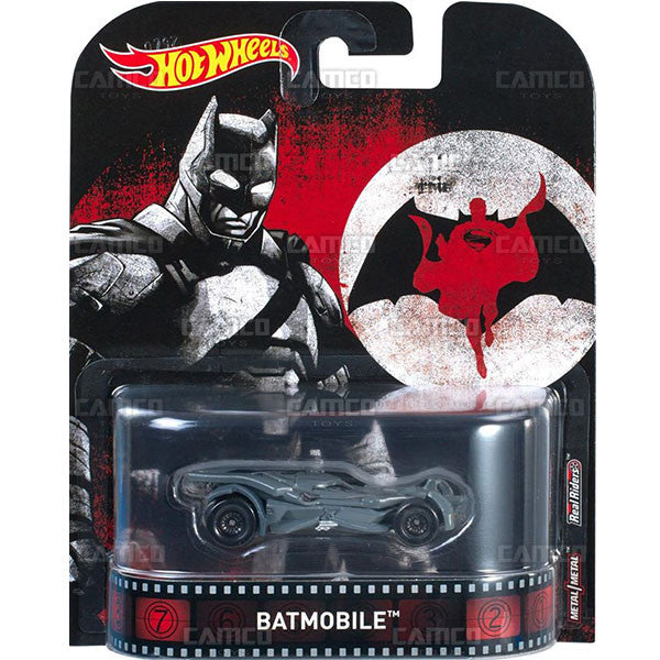 Batmobile BVS - 2017 Hot Wheels Retro Entertainment C Case Assortment DMC55-956C
