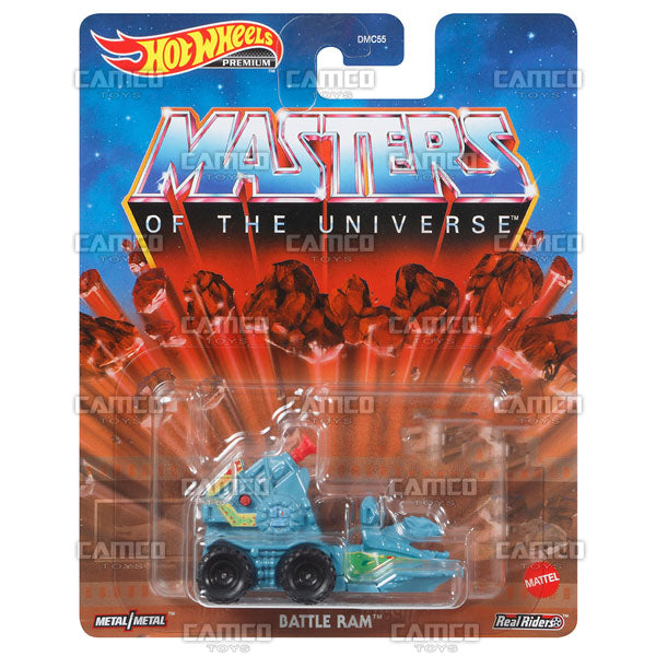 Battle Ram (Masters of the Universe) - 2021 Hot Wheels Retro Replica Entertainment Case B Assortment DMC55-957B by Mattel