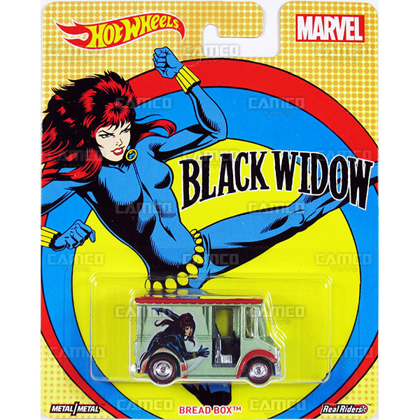 Bread Box (Black Widow) - 2017 Hot Wheels Pop Culture WOMEN OF MARVEL Case J Assortment DLB45-956J