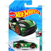 C6 Corvette #174 green - 2018 Hot Wheels Basic Mainline H Case Assortment C4982 by Mattel.