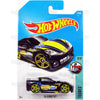 C6 Corvette #77 black (Tooned) - from 2017 Hot Wheels basic mainline D case Worldwide assortment C4982 by Mattel.