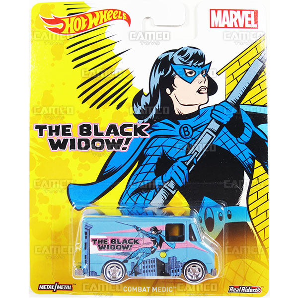COMBAT MEDIC (Black Widow) - from 2016 Hot Wheels Pop Culture C Case (MARVEL) Assortment DLB45-956C by Mattel.