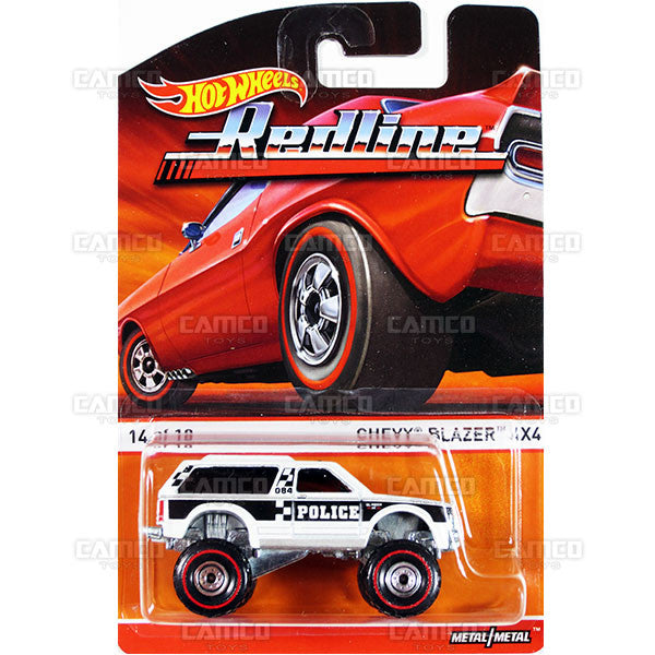 Chevy Blazer 4x4 - 2015 Hot Wheels Heritage F Case (Redline) Assortment BDP91-956F by Mattel.