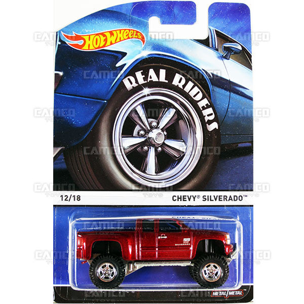 Chevy Silverado - 2015 Hot Wheels Heritage C Case (Real Riders) Assortment BDP91-956C by Mattel.