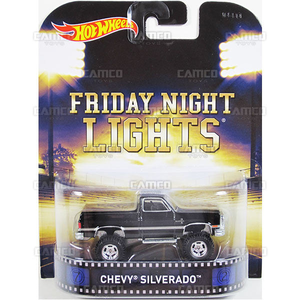 CHEVY SILVERADO (Friday Night Lights) - 2015 Hot Wheels Retro Entertainment G Case BDT77-996G by Mattel