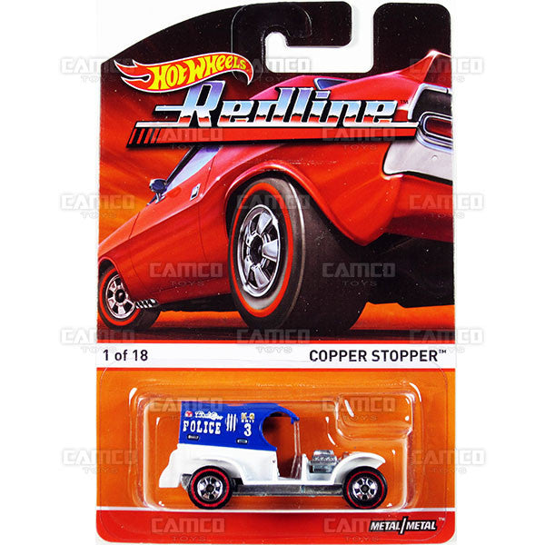 Copper Stopper - 2015 Hot Wheels Heritage B Case (Redline) Assortment BDP91-956B by Mattel.