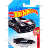 Corvette C7 Z06 #48 black (Then and Now) - 2018 Hot Wheels Basic Mainline B Case Assortment C4982 by Mattel.