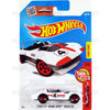 Corvette Grand Sport Roadster #102 White (Now and Then) - from 2016 Hot Wheels Basic Case Worldwide Assortment C4982 by Mattel.