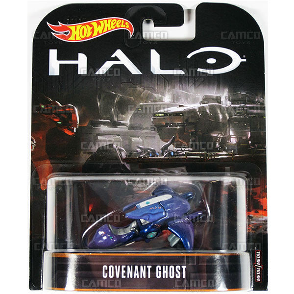 Covenant Ghost - 2017 Hot Wheels Retro Replica Entertainment B Case (HALO) Assortment DMC55-956B